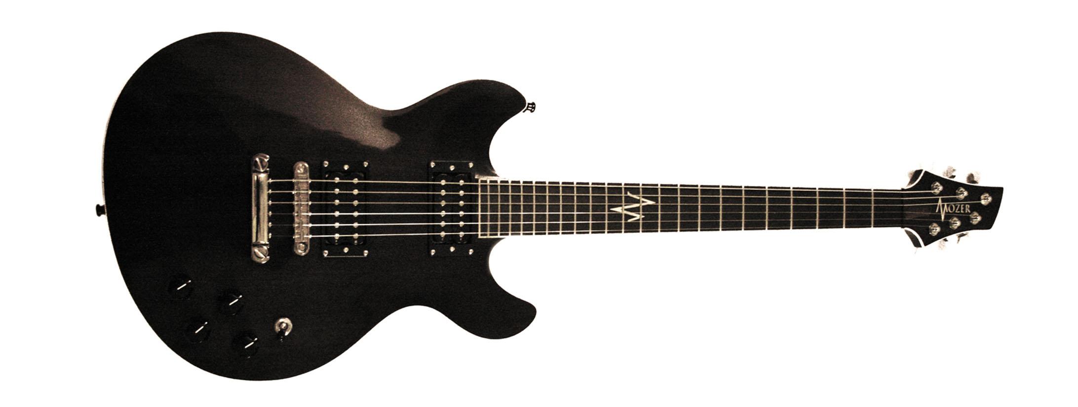 Mozer custom guitar Bill Kelliher