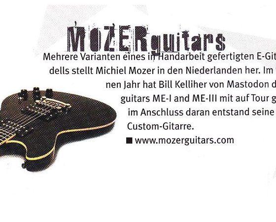 Gitarre & Bass magazine no.5-2012